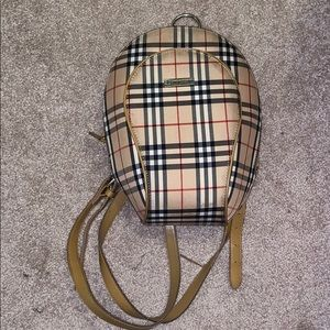 Burberry London backpack